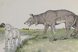 Wolf and lamb