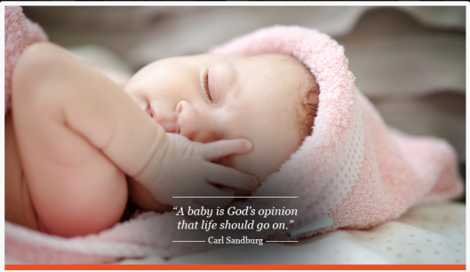 A Baby is Gods Opinion